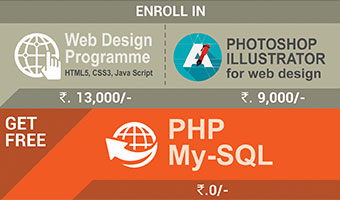 WEB DESIGN & PHOTOSHOP ILLUSTRATOR and GET PHP & My-SQL